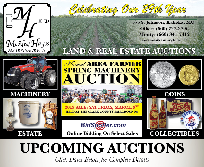 McAfee Hayes Auction Service